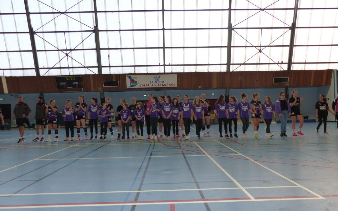 Match de N2F Lanester/Rochefort