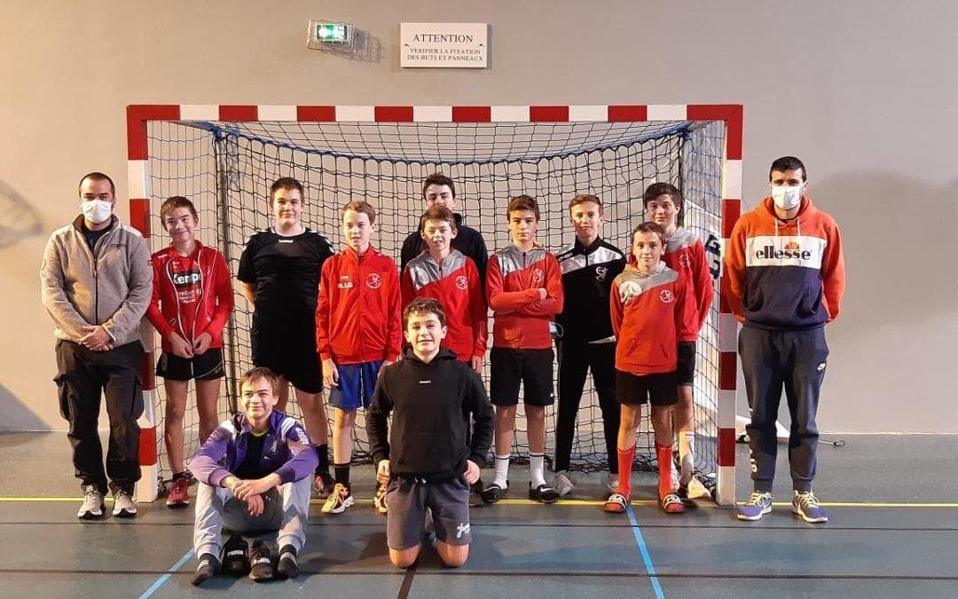 Stage-15 gars avec Scorff handball lundi 23 octobre 2020 aux cordiers